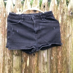 Urban Outfitters Black Jean Shorts